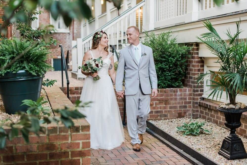 Married May 2017 • Linden Row Inn • Richmond, VA • Kathryn Ivy Photography
